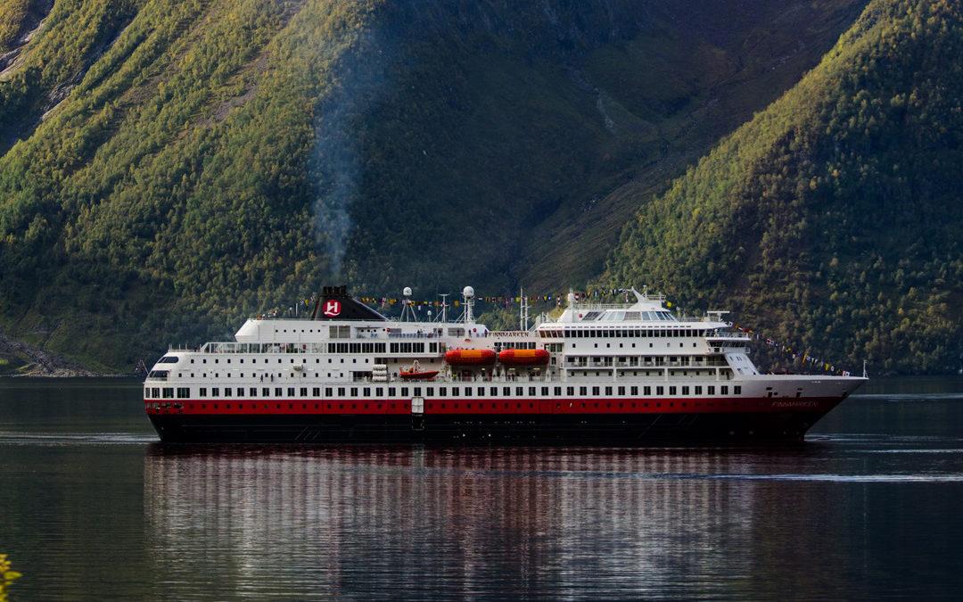 Hurtigruten Schiff: MS Finnmarken