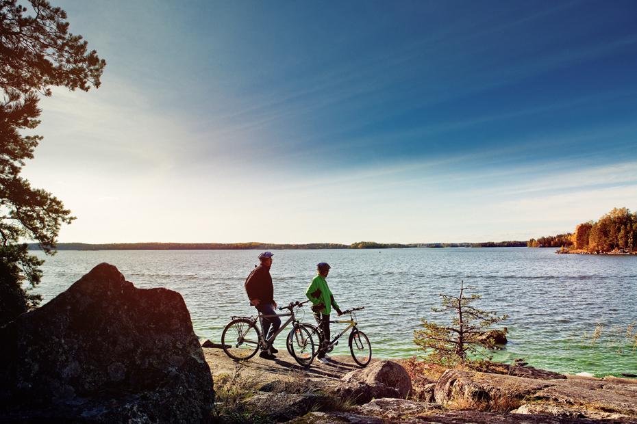 Birgit & Torges Fahrradtour durch das Schärenmeer