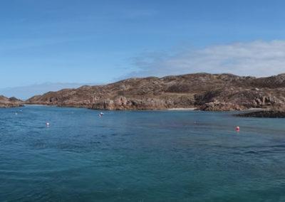 Die charakteristischen Küsten Schottlands