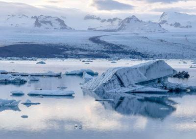 Atemberaubende Anblicke im Eismeer