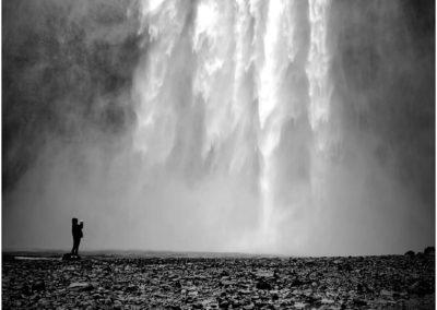 Einer der vielen isländischen Wasserfälle