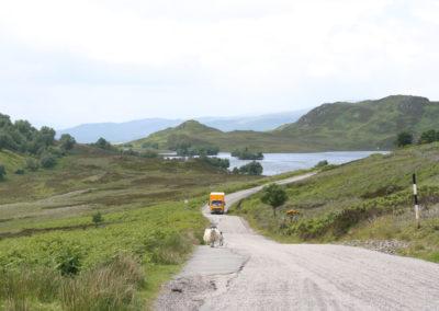 Loch Tarff in Schottland
