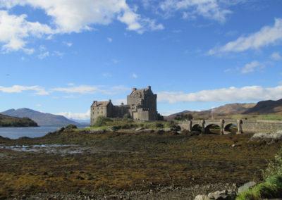 Gut erhaltene Burgen in Schottland
