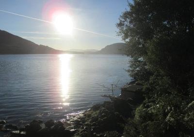 Bestes Wetter an Schottlands Seen