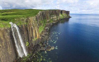 Kilt Rock und Mealt Fall, Schottland