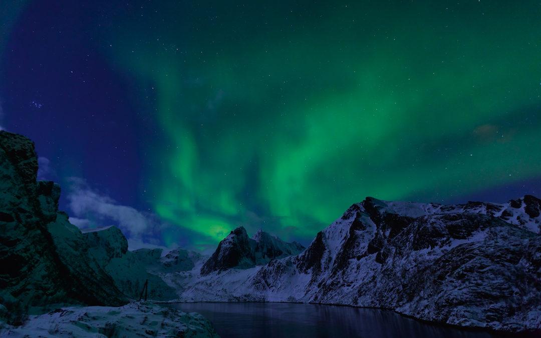 Polarlichter über Norwegen
