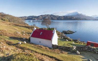 Cottage am Loch Shieldaig