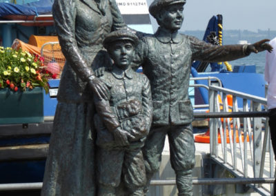 Das Auswandererdenkmal in Cobh