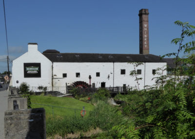 Whisky Distillery in Kilbeggan