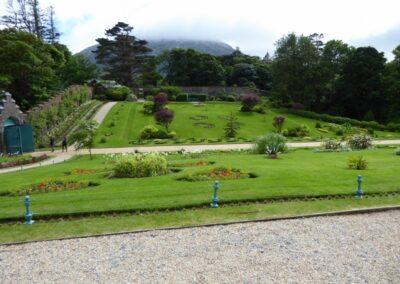 Garten von Kylemore Abbey