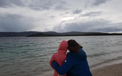 Helmut-Samuel, Tanja & Rebeccas Schottlandreise