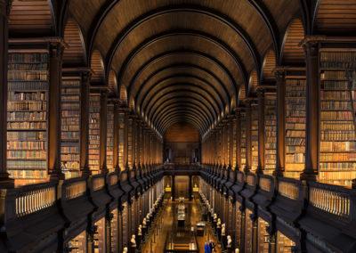 Bibliothek des Trinity College in Dublin