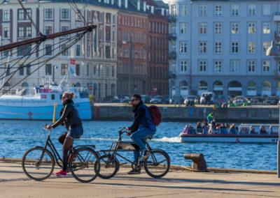Kopenhagen erkundet man am besten mit dem Fahrrad