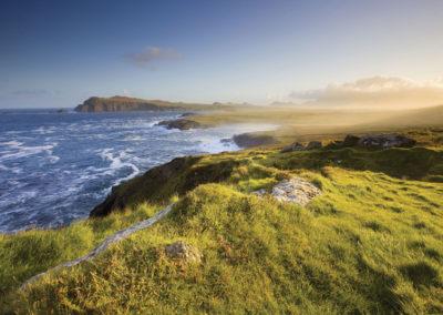 Küste von Kerry im Südwesten Irlands