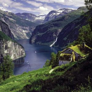 Autorundreisen Norwegen Blomberg Farm Geirangerfjord