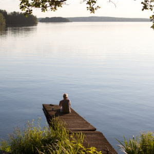 Autorundreisen Finnland Pier