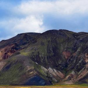 Autorundreisen Island Berge