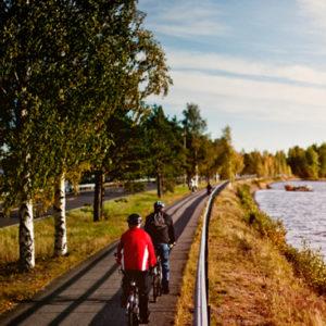 Fahrradtour Finnland