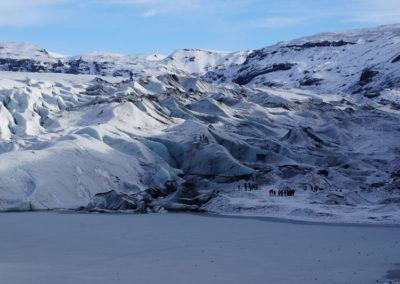 Gletscher Myrdalsjökull