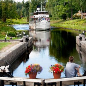 Göta Kanal Fahrten Klassische Kanalreise von Göteborg nach Stockholm