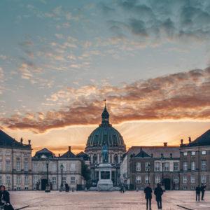Städtereisen Dänemark Kopenhagen Schloss Amalienborg