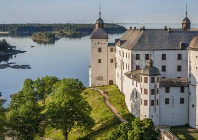 Läcko Castle am Vänern See