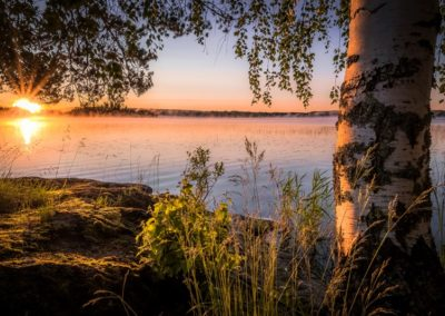 Pielinen Sonnenuntergang