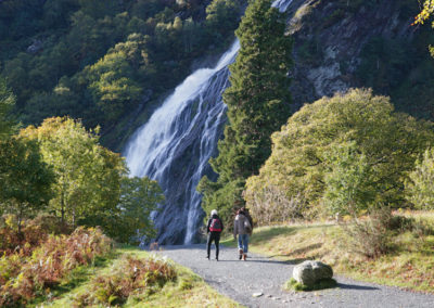 Powerscourt Wasserfall im Wicklow Nationalpark