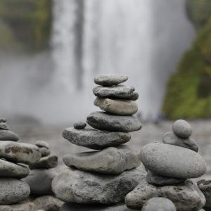 Autorundreise Island Wasserfall