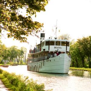 Göta Kanal Fahrten Schwedenreise von Stockholm nach Goeteborg