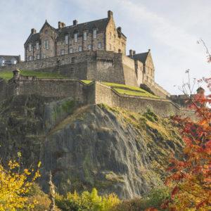 Städtereise Schottland Edinburgh Castle