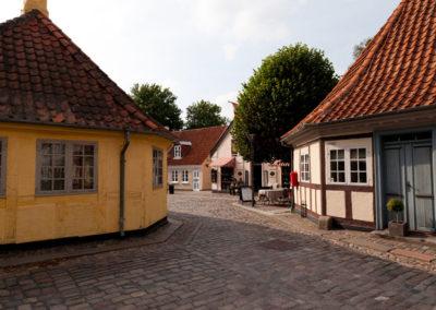 Straße in Odense