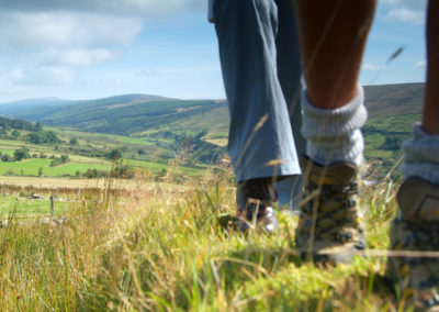 Wanderer in The Sperrins Tyrone