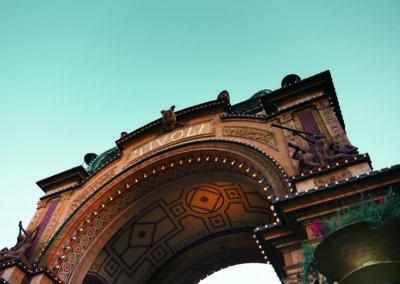 Der Freizeitpark Tivoli liegt mitten in Kopenhagen