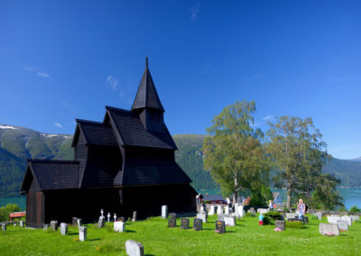 Stabkirche in Urnes am Sognefjord
