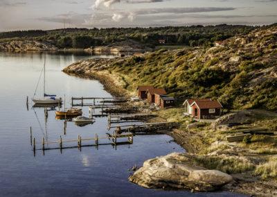 Kämpersvik in der Provinz Bohuslän an der schwedischen Westküste