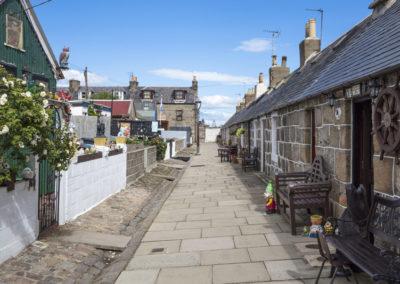 Der Stadtteil Foot Dee in Aberdeen