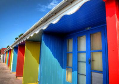 Strandhütten in Bournemouth