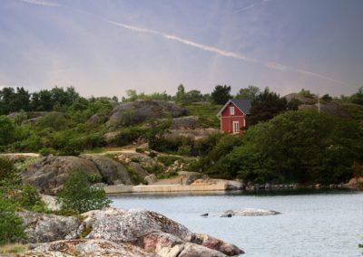 Haus in den finnischen Schären bei Turku