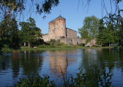 Schloss Olavinlinna bei Savonlinna