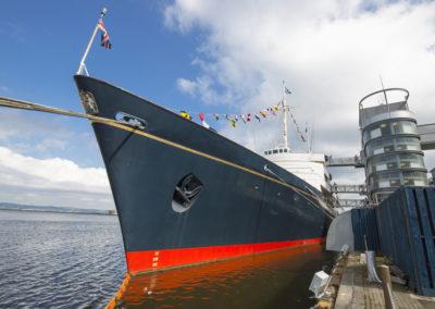 Die Royal Yacht Britannia