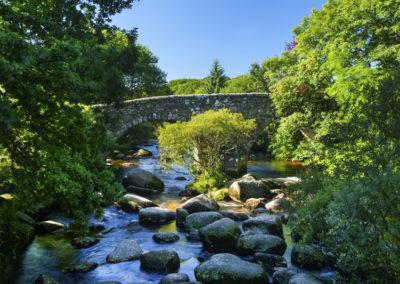 Steinbrücke in Dartmeet