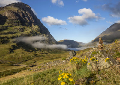 The Three Sisters im Tal von Glencoe