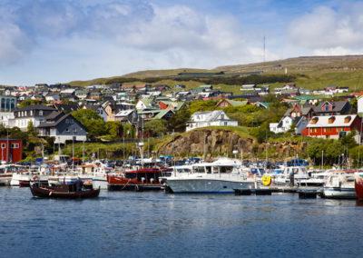 Hafen von Tinganes, Torshavn