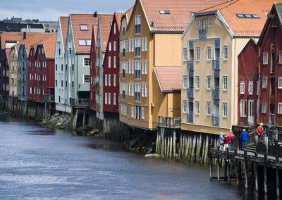 Häuser in Trondheim