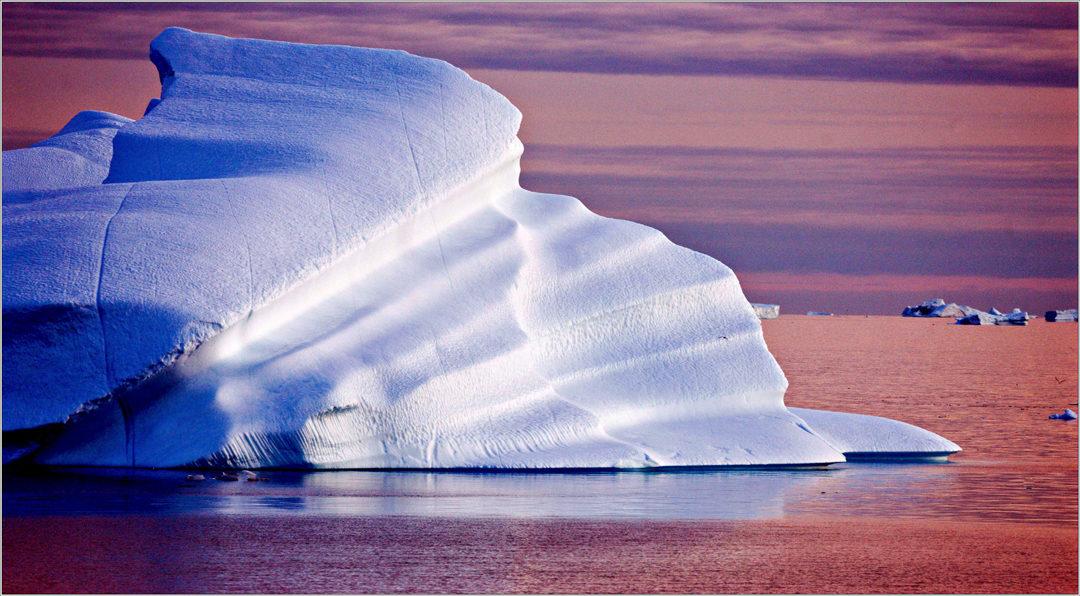 Eisberge in Grönland
