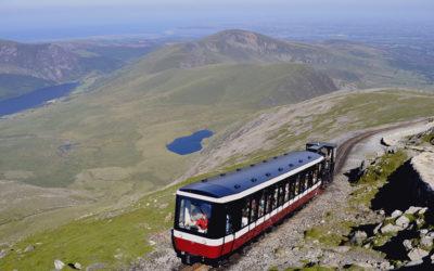 Mit dem Zug durch Wales