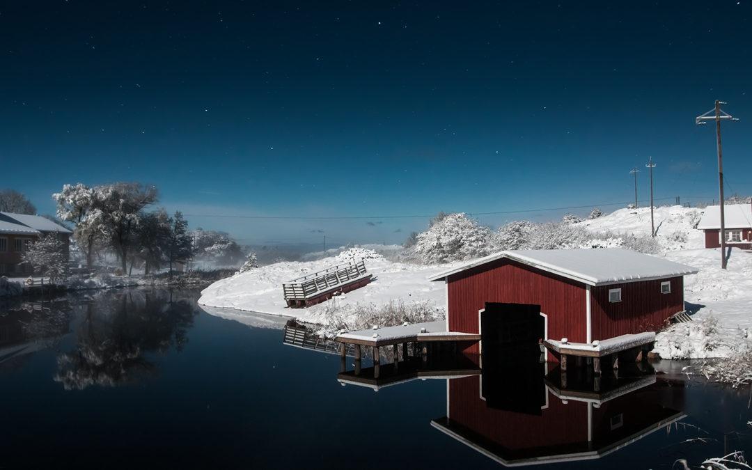 Åland-Archipel, Warten auf das Eis