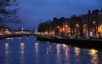 Half Penny Bridge, Irland