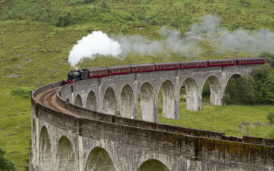 The Jacobite Steam Train, Schottland